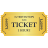 Tickets d'intervention 1 Heure